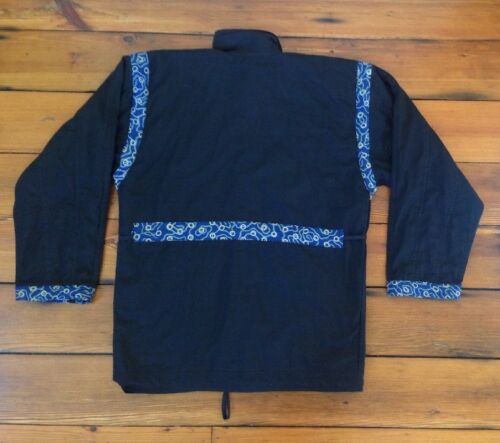 Cotton 47 M Coat Reversibel 47 Jacket Batik 1 Kvinders l Bali Ethnic 100 Bali Etnisk Reversible Fully Cotton Fuldt Batik Womens Frakke M Jacket 100 WHqSFq1n