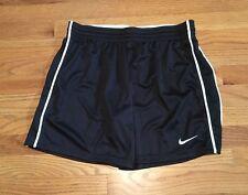 New Nike Women's L Classic Capri Soccer Futbol Training Short 3/4 Pant Black