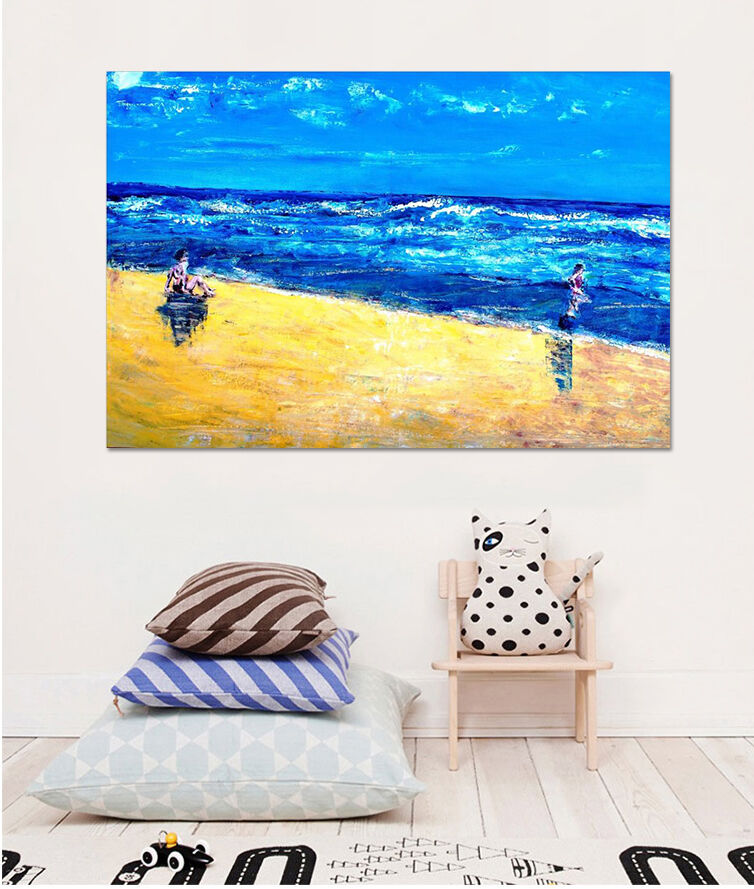 3D Ozean-Farbmalerei 44 Fototapeten Wandbild  BildTapete Familie AJSTORE DE