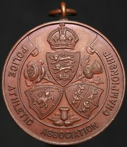 Police-Athletic-Association-Championship-039-Long-Jump-1931-039-Medal-KM-Coins