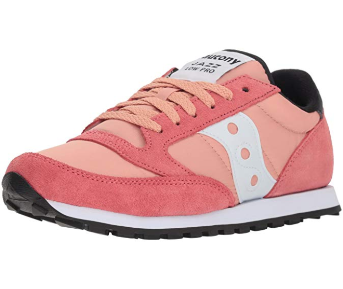 Saucony Jazz Lowpro Sneaker Coral White, Size 5