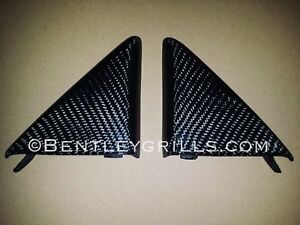 Mercedes-Benz-SL-R230-Carbon-Fiber-Interior-Side-Mirror-Backs-Genuine-Carbon