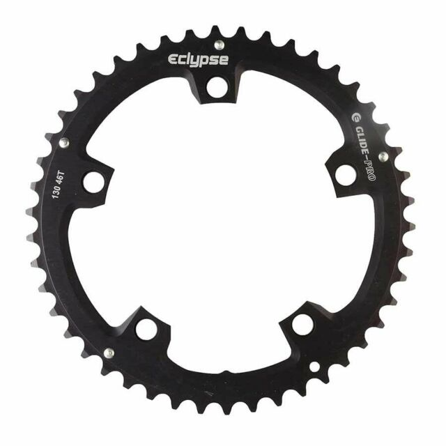NEW SHIMANO SG-B 5 BOLT 130 BCD 39T 9 SPEED CHAINRING SILVER