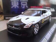 2008 Nissan GT-R R35 Japanese Police Car Diecast Model Car 1/43 Greenlight
