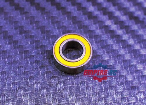 MR105-2RS 25Pcs Rubber Ball Bearing Bearings YELLOW 5*10*4 MR105RS 5x10x4 mm