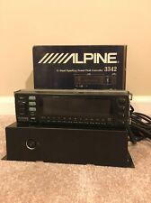 Rare ALPINE 11 Band EQUALIZER 3342 PROCESSOR With Box