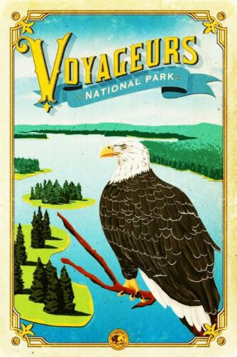 "Minnesota Saint Paul America Fridge Magnet Poster Vintage Cute Retro USA 2x3/"""