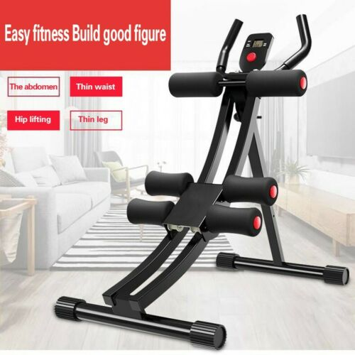 Abdominal Ab Workout Machine Crunch Exercise Equipment Home Gym Fitness