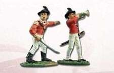 BRITAINS 17351 CAPTAIN AND MUSICIAN LIGHT INFANTRY COMPANY 40TH REG. OF FOOT
