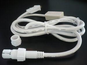 Led rope light 3ft power cord 2wire 38 inch 120v ebay image is loading led rope light 3ft power cord 2wire 3 aloadofball Images