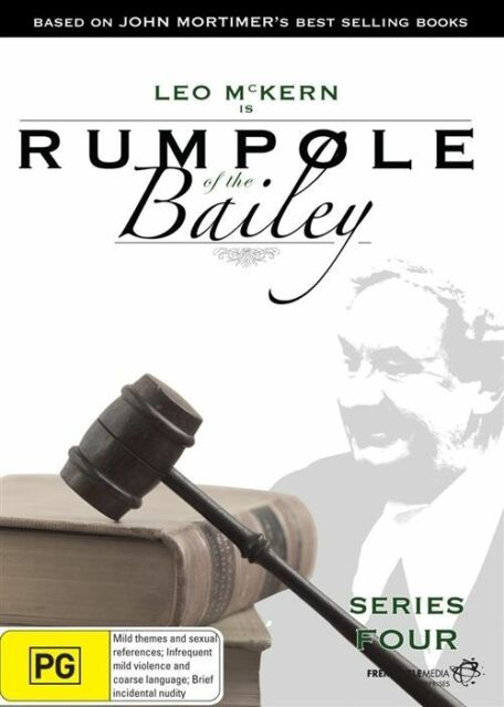 Rumpole of The Bailey Series Four - DVD Region 4