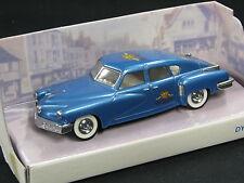 """Dinky Toys / Matchbox Tucker Torpedo 1948 1:43 Metallic Blue """"De Ruijter"""""""