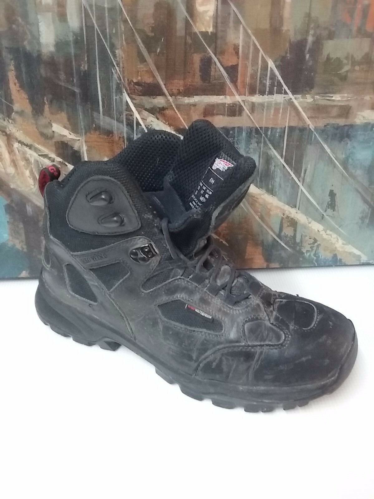 Men's Red Wing Work/Hike Boots 8690 Black 5