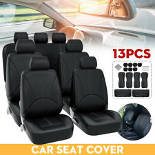 7 SEATER Chiswick Luxury Full Set Car Seat Covers for KIA CARENS 2007/> MANUAL