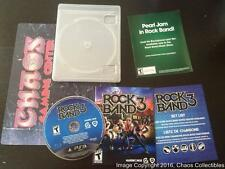 Rock Band 3 (Sony Playstation 3) - w/ Case, Instructions, & All Inserts - TESTED