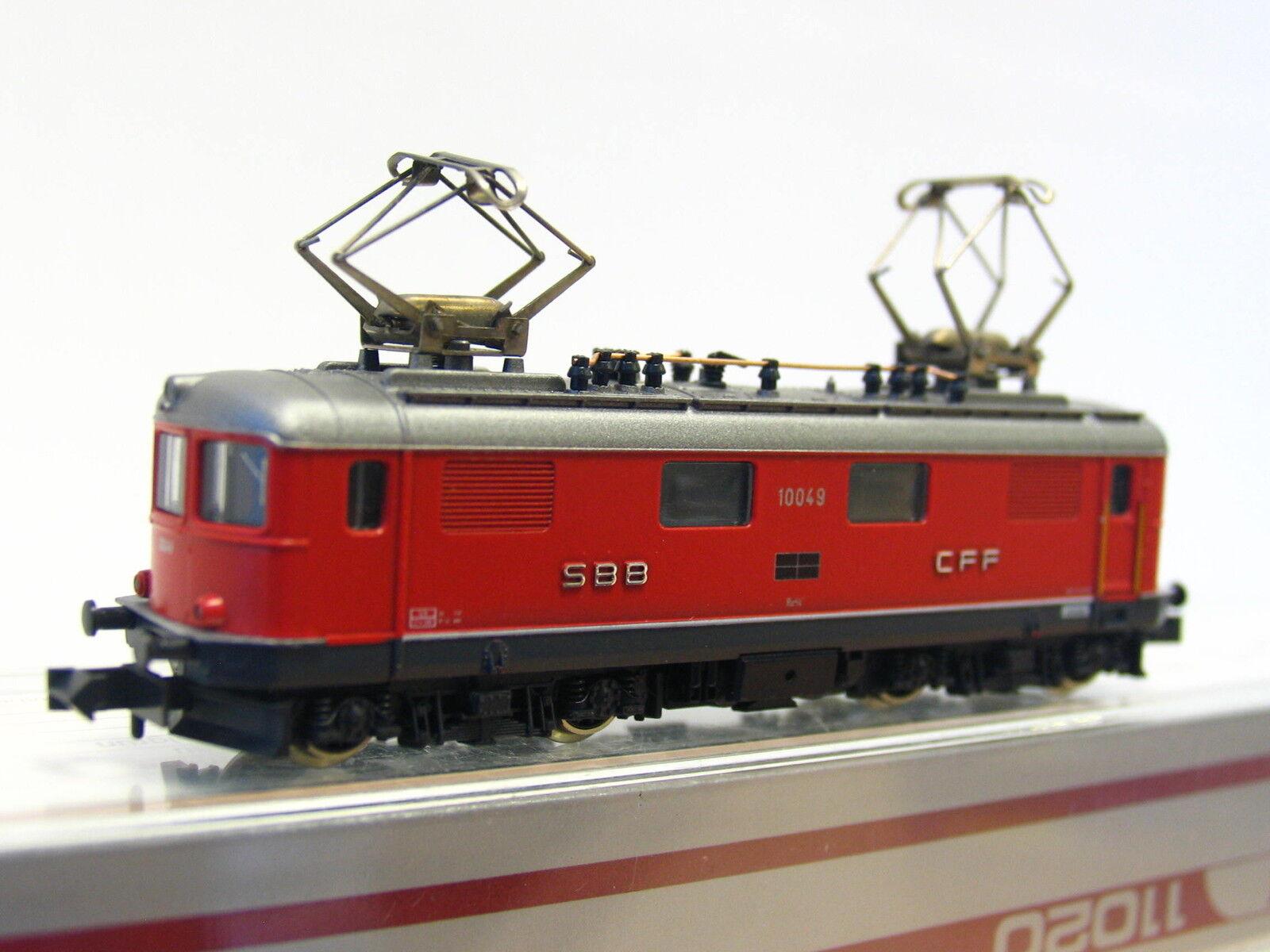 Hobbytrain N 11020 E-Lok re 4 4 10049 SBB CFF OVP (z1483)