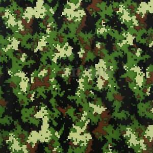 PVA Dipping Hydrographics Water Transfer Printing Green Camouflage Film 0.5 x 1m