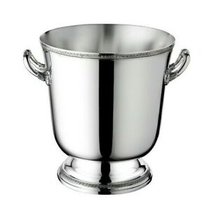 Malmaison-by-Christofle-France-Paris-Silver-Plate-Ice-Bucket-Cooler-New