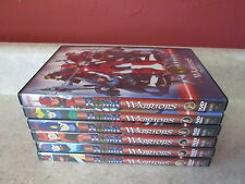 Ronin Warriors 1-6 TESTED WORKS OOP Anime 1 2 3 4 5 6 Ep 1-24 Complete RARE DVD