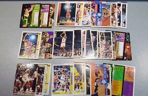Lot-40-cartes-de-basketball-Fleer-Corp-et-Upper-Deck-a-trier-Expedition-eclair
