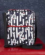 DISNEY MICKEY MOUSE BLACK WHITE CROSS BODY PURSE TOTE BAG Trendy Christmas Gift