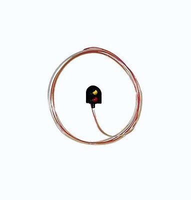 Coraggioso Berko Bh02 Calibro Di Oo 4mm Scala Rosso/giallo Testa Rotonda Segnale Fabbricazione Abile