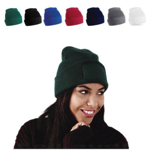 Printer/'s Beanie Strick Mütze Wintermütze Wollmütze zum Bedrucken Besticken