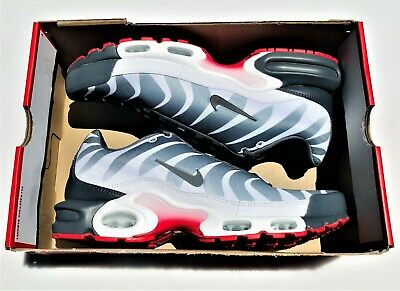 Nike Air Max Plus TN SE Tuned After The Bite White Gray Red AQ0237 100 Mens 11 887231648535 | eBay