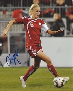 Kaylyn-Kyle-Signed-8-10-Photo-Team-Canada-Soccer-Autographed-COA
