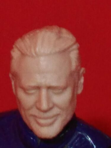 "The Walking Dead negan échelle 1//18 3.75/"" custom Head pour utilisation avec Gi Joe MH012"