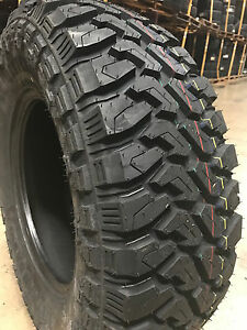 4 New 33x12 50r17 Centennial Dirt Commander M T Mud Tires Mt 33