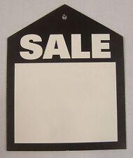 50 Black Oversized Sale Unstrung Price Tags Garment Merchandise