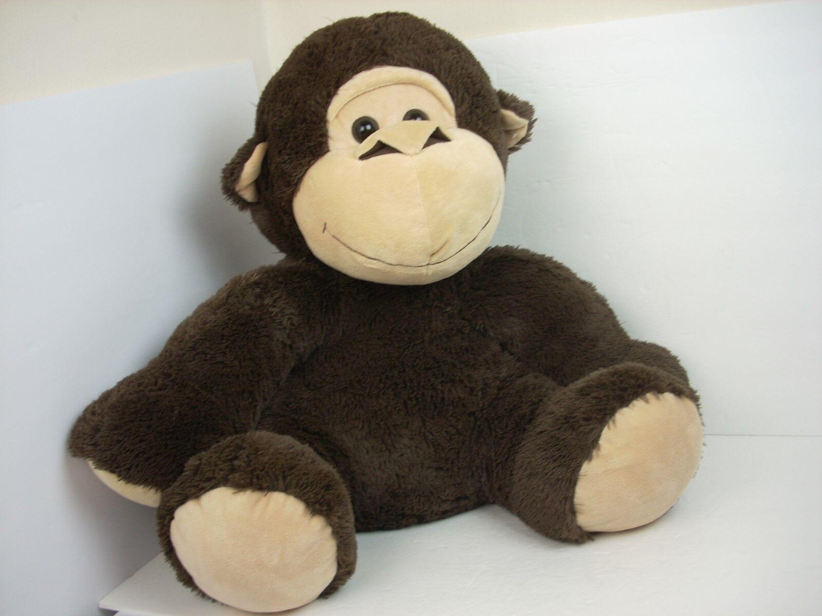 Jungle Friends Monkey Big Jumbo braun Plush Stuffed Animal 27  Toy Happy Ape
