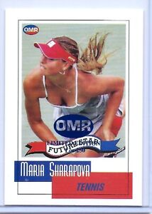 034-RARE-034-MARIA-SHARAPOVA-2002-1ST-EVER-PRINTED-034-LIMITED-EDITON-OF-250-034-ROOKIE-CARD