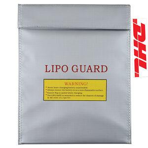 LIPO Tasche 230mm x 300mm NEU Akku Safe Bag Guard Sack Feuerschutz Feuerfest(a