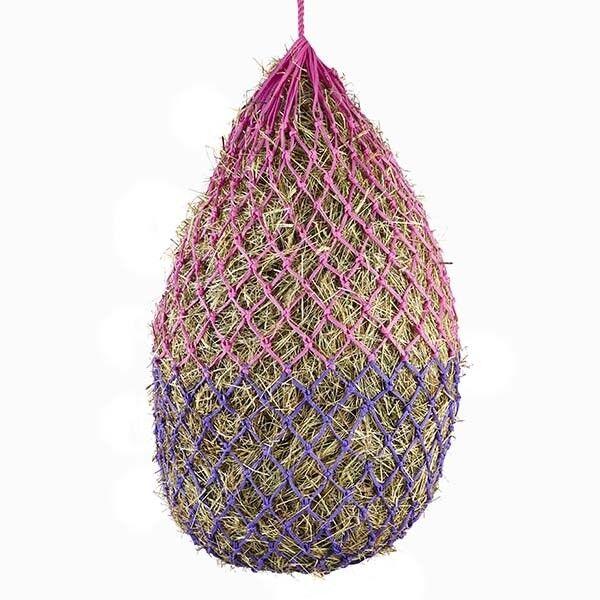 Elico Padstow Haynet/Haylage Filet rose & violet 40 mm mm mm Trous 6.5 kg Capacité af3f54