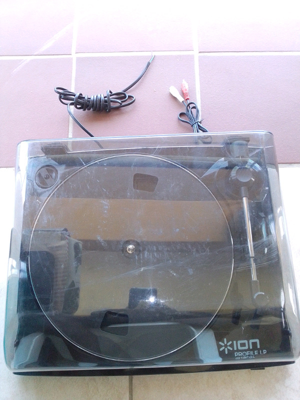 ION ( LP to mp3/CD converter)