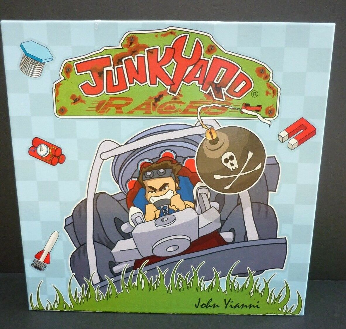 Junkyard Races Board Game Complete Gen42