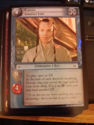 Venerable Lord LOTR TCG Lord of the Rings CCG Mt Doom 10R9 Elrond