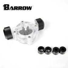 "Barrow G1/4""  Thread Matte Black Flow Indicator Meter Water Cooling"