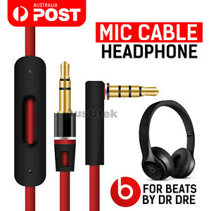 Replacement-Audio-Headphones-Mic-Cable-3-5mm-Aux-Cord-Jack-For-Beats-By-Dr-Dre