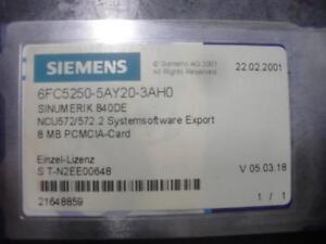 SIEMENS-SINUMERIK-CARD-6FC5250-5AY20-3AH0