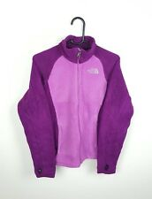 WOMENS PURPLE THE NORTH FACE VTG ATHLETIC SPORTS ZIP-UP FLEECE JACKET UK S
