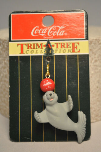 Coca-Cola Trim-A-Tree Cllection Coke Seal Miniature Ornament