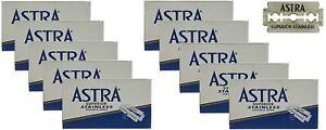 50-Astra-Superior-Acier-Inoxydable-Lames-de-Rasoir-Pour-Double-Bord-Gillette