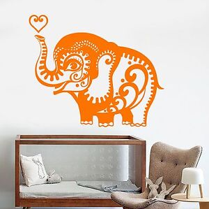 Details About Vinyl Wall Decal Little Elephant African Animals Nursery Stickers 883ig