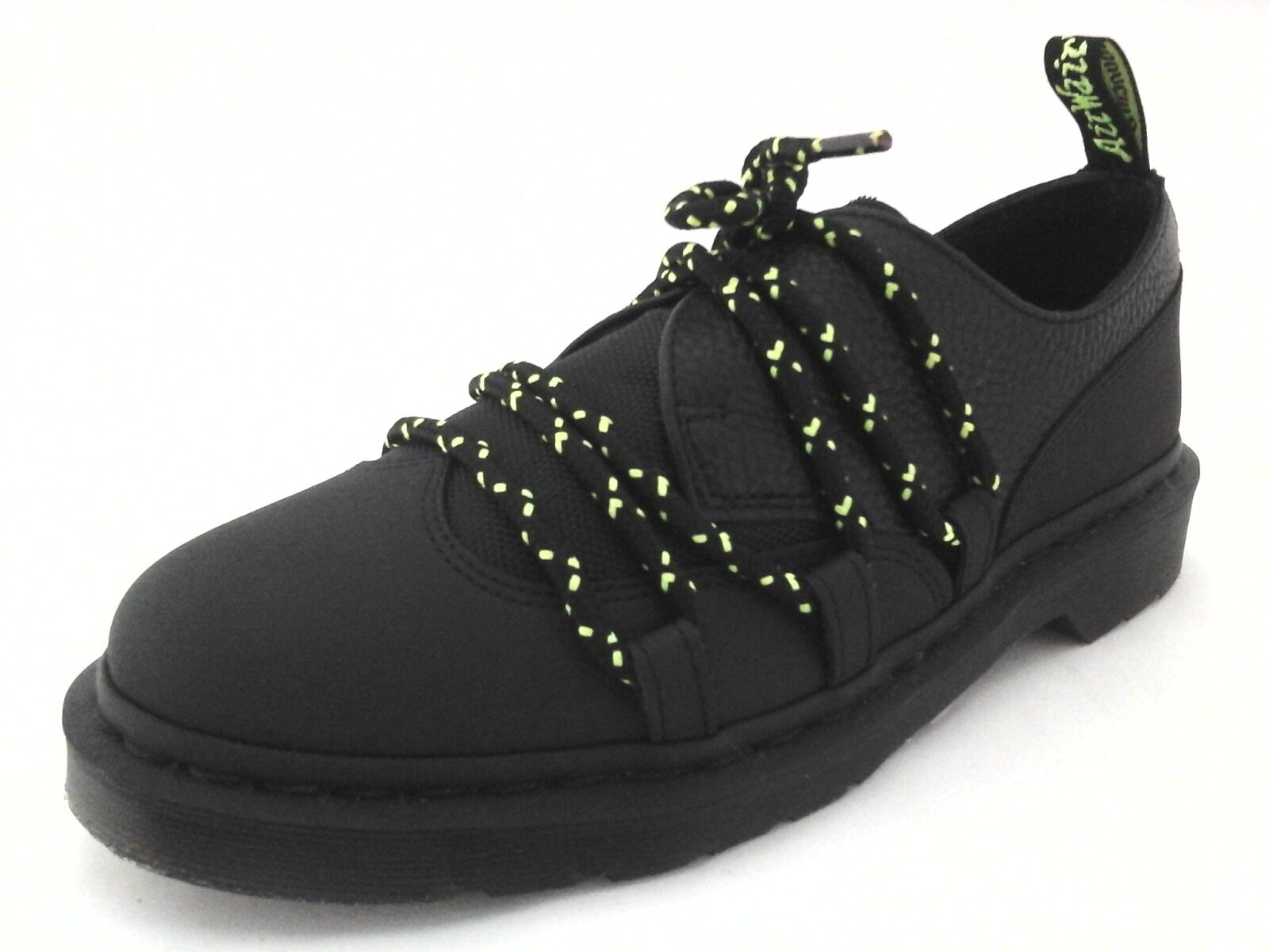 DR MARTENS Estrela shoes Brogues Oxfords Black Neon Punk Womens US 9 EU 41  130