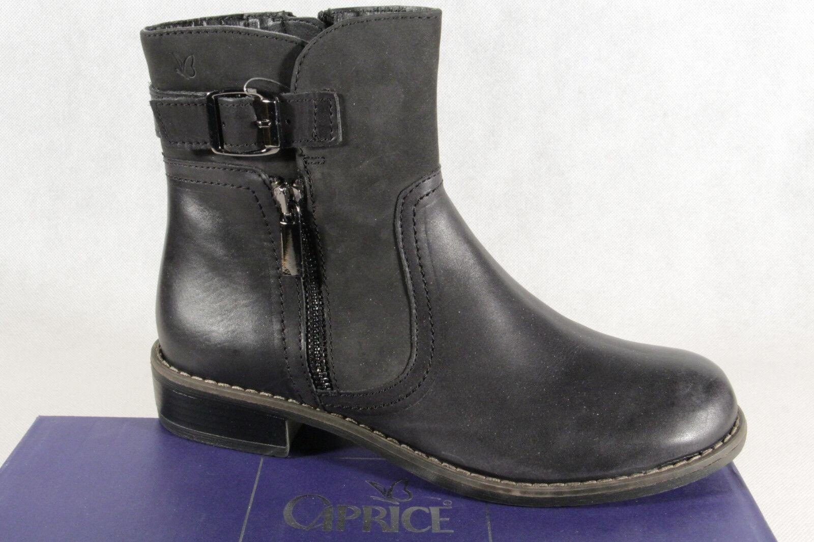 Caprice señora botas botín botas botas de invierno negro 25365 nuevo!!!