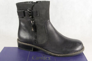 official photos 5aff4 ddd52 Details about Caprice Women's Ankle Boots Boots Winter Boots Black 25365 New