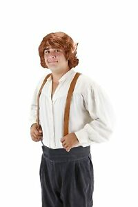 Adult-Movie-LOTR-Lord-of-the-Rings-The-Hobbit-Bilbo-Baggins-Costume-Wig-Ears